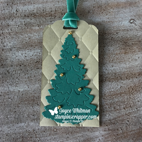 Stampin Up, Stampin' Up! Christmas Tags, created by Stampin Scrapper, for more cards, gifts, ideas, scrapbooking and 3D projects go to stampinscrapper.com, Joyce Whitman