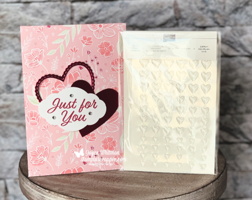 Stampin Up, Stampin' Up! Meant To Be stamp set #148626, Be Mine Stitched Framelits #148527m Meant to be Bundle #150587, All My Love designer series paper #148576, Pretty Label punch #143715, created by Stampin Scrapper, for more cards, gifts, ideas, scrapbooking and 3D projects go to stampinscrapper.com, Joyce Whitman