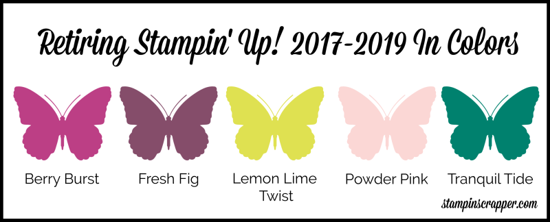 Stampin Up 2017-2019 In Colors (1)