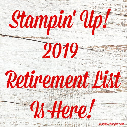 Retirement List Is Here