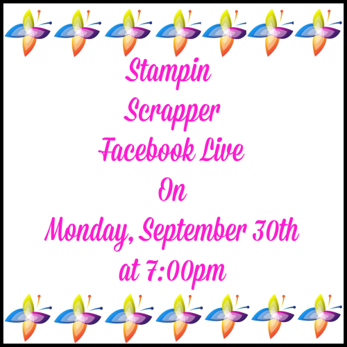 Stampin Up, Stampin' Up! Designer Series Paper Sale, Paper Pumpkin, Facebook Live, created by Stampin Scrapper, for more cards, gifts, ideas, scrapbooking and 3D projects go to stampinscrapper.com, Joyce Whitman