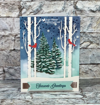 Stampin Up, Stampin' Up!, October 2019 Paper Pumpkin, Christmas, Shadow Box, created by Stampin Scrapper, for more cards, gifts, ideas, scrapbooking or 3D projects, go to stampinscrapper.com, Joyce Whitman