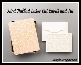Stampin Up, Stampin' Up! Verdant Garden stamp set, Bird Ballad Laser Cut Cards, Wild Rose Dies, created by Stampin Scrapper, for more cards, gifts, ideas, scrapbooking and 3D projects go to stampinscrapper.com, Joyce Whitman, anniversary, paper crafting, stamping, rubber stamping, wedding,