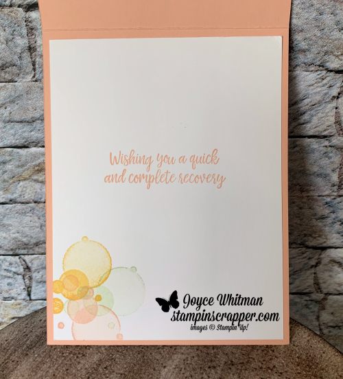 Stampin Up, Stampin' Up! Beauty Abounds stamp set #148726, Healing Hugs stamp set #146530, Share What You Love Artisan Pearls #146927, created by Stampin Scrapper, for more cards, gifts, ideas, scrapbooking and 3D projects go to stampinscrapper.com, Joyce Whitman