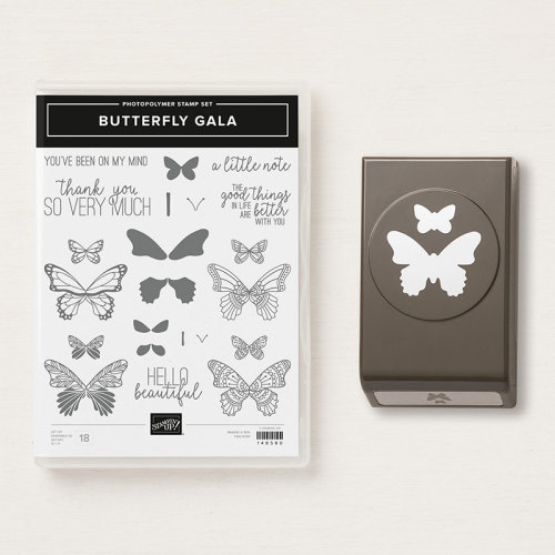 Stampin Up, Stampin' Up! Butterfly Gala Suite, Butterfly Gala Stamp Set, Gingham Gala designer series paper, Butterfly Duet Punch, created by Stampin Scrapper, for more cards, gifts, ideas, scrapbooking and 3D projects go to stampinscrapper.com, Joyce Whitman, paper crafting, stamping, rubber stamping, handmade, 2019 Occasions catalog