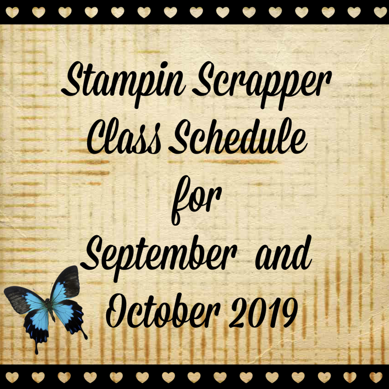 Class Schedule Sign