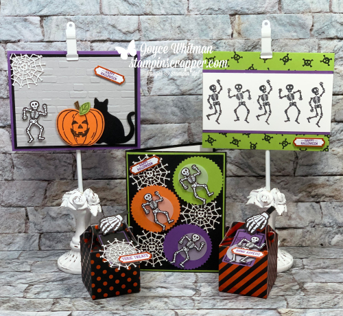 Stampin Up, Stampin' Up!, September 2019 Paper Pumpkin, Paper Crafting, Handmade, Halloween, Stamping, created by Stampin Scrapper, for more cards, gifts, ideas, scrapbooking and 3D projects, go to stampinscrapper.com, Joyce Whitman