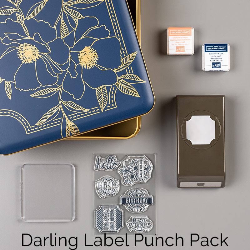 Darling Label Punch Box
