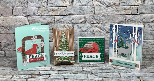 Stampin Up, Stampin' Up!, November 2019 Paper Pumpkin, Alternative Projects, Gift Card Holders, Christmas Tags, Christmas, created by Stampin Scrapper, for more cards, gifts, ideas, scrapbooking and 3D projects go to stampinscrapper.com, Joyce Whitman