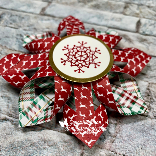 Stampin Up, Stampin' Up!, Merry Christmas Monday, Christmas, Ornament, Colorful Seasons stamp set, created by Stampin Scrapper, for more cards, gifts, ideas, scrapbooking or 3D projects, go to stampinscrapper.com, Joyce Whitman