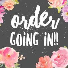 Order Goin in