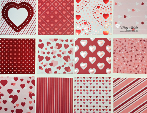 Stampin Up, Stampin' Up! From My Heart Designer Series Paper