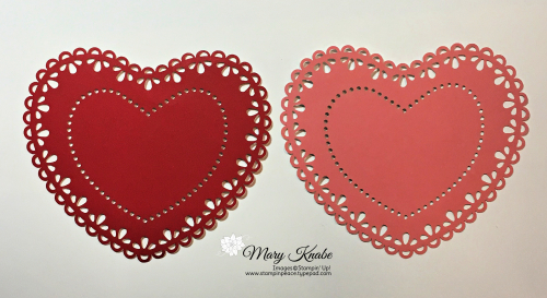 Stampin Up, Stampin' Up! Heart Doilies