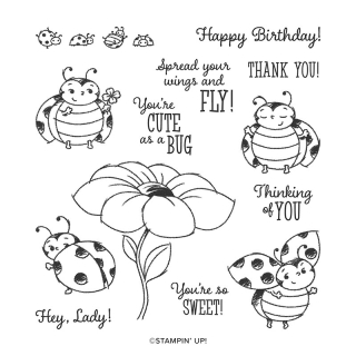 Stampin Up, Stampin' Up! Little Lady Bug stamp set, 2020 Sale-A-Bration brochure, created by Stampin Scrapper, for more cards, gifts, ideas, scrapbooking and 3D projects go to stampinscrapper.com, Joyce Whitman