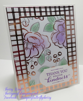 Stampin Up, Stampin' Up!, Layered With Kindness stamp set, So Sentimental Stamp Set, Tasteful Textures stamp set, Flowering Foils Specialty designer series paper, 2020 Sale-A-Bration, for more cards, gifts, ideas, scrapbooking and 3D projects go to stampinscrapper.com, Joyce Whitman