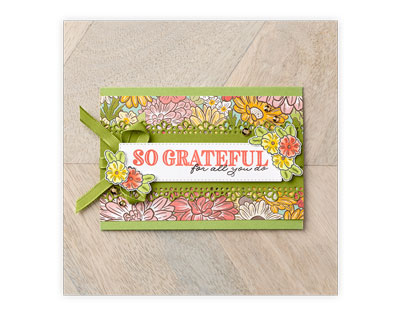 Stampin Up, Stampin' Up!, Ornate Garden Suite, Ornate Thanks Bundle, Ornate style Bundle, Ornate Floral Embossing Folder, Ornate Garden Ribbon Combo Pack, Ornate Garden Specialty designer series paper, Glided Gems.  For more cards, gifts, ideas, scrapbooking and 3D projects go to stampinscrapper.com, Joyce Whitman