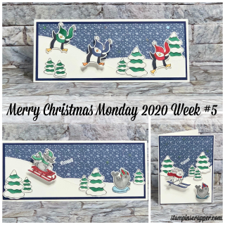 Stampin Up, Stampin' Up!, Merry Christmas Monday 2020 Week #5, Freezin' Fun stamp set, Freezin' Friends dies, Trimming The Town designer series paper, created by Stampin Scrapper.  For more cards, gifts, ideas, scrapbooking and 3D projects go to stampinscrapper.com, Joyce Whitman
