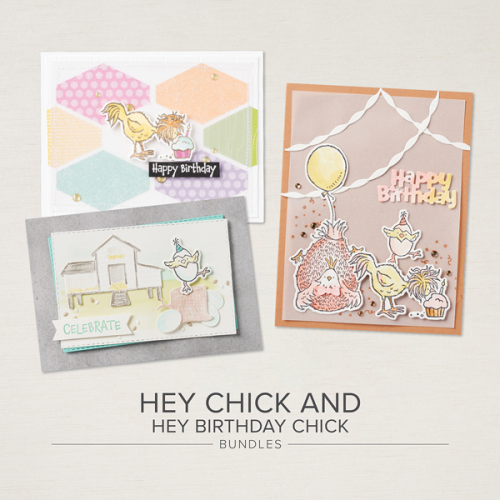 Stampin Up, Stampin' Up!, Hey Chick Bundle, Hey Chick stamp set, Chick dies, Hey Birthday Chick bundle, Hey Chick Birthday stamp set, Birthday Chick dies, created by Stampin Scrapper.  For more cards, gifts, ideas, scrapbooking and 3D projects go to stampinscrapper.com, Joyce Whitman