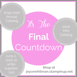 Stampin Up, Stampin' Up!, It's The Final Countdown, Stampin Scrapper, for more cards, gifts, ideas, scrapbooking and 3D projects, go to stampinscrapper.com, Joyce Whitman