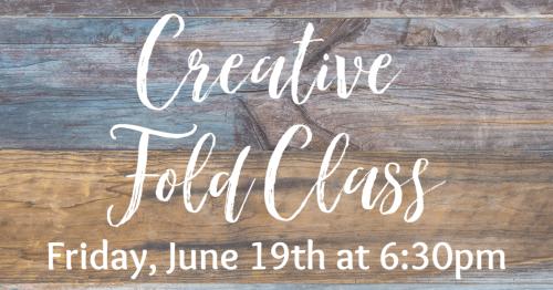 Creative Fold Class FB Banner