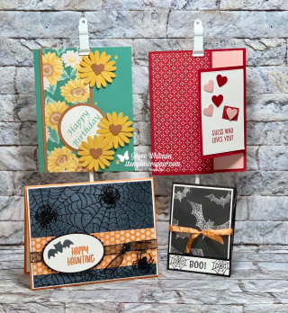 Stampin Up, Stampin' Up! Holiday Extravaganza 2020, Session 1, Valentine's Day, Spring, Halloween, Banner Year stamp set, Mini Curvy Keepsake Box, Winter Snow embossing folder, Match Book treat holder, created by Stampin Scrapper.  For more cards, gifts, ideas, scrapbooking and 3D projects go to stampinscrapper.com, Joyce Whitman