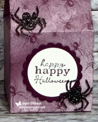 Stampin Up, Stampin' Up!, Fall Friday 2020, Week #8, Milk Carton, Little Treats Bundle, Little Treats stamp set, Little Treat Box dies, Magic In This Night designer series paper, created by Stampin Scrapper.  For more cards, gifts, ideas, scrapbooking and 3D projects go to stampinscrapper.com, Joyce Whitman